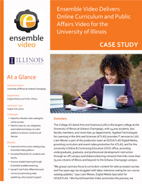 Case Study - University of Illinois