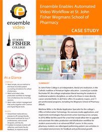 Case Study - St. John Fisher College