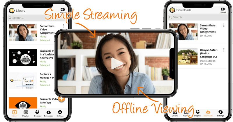 Streaming Video & Offline Content